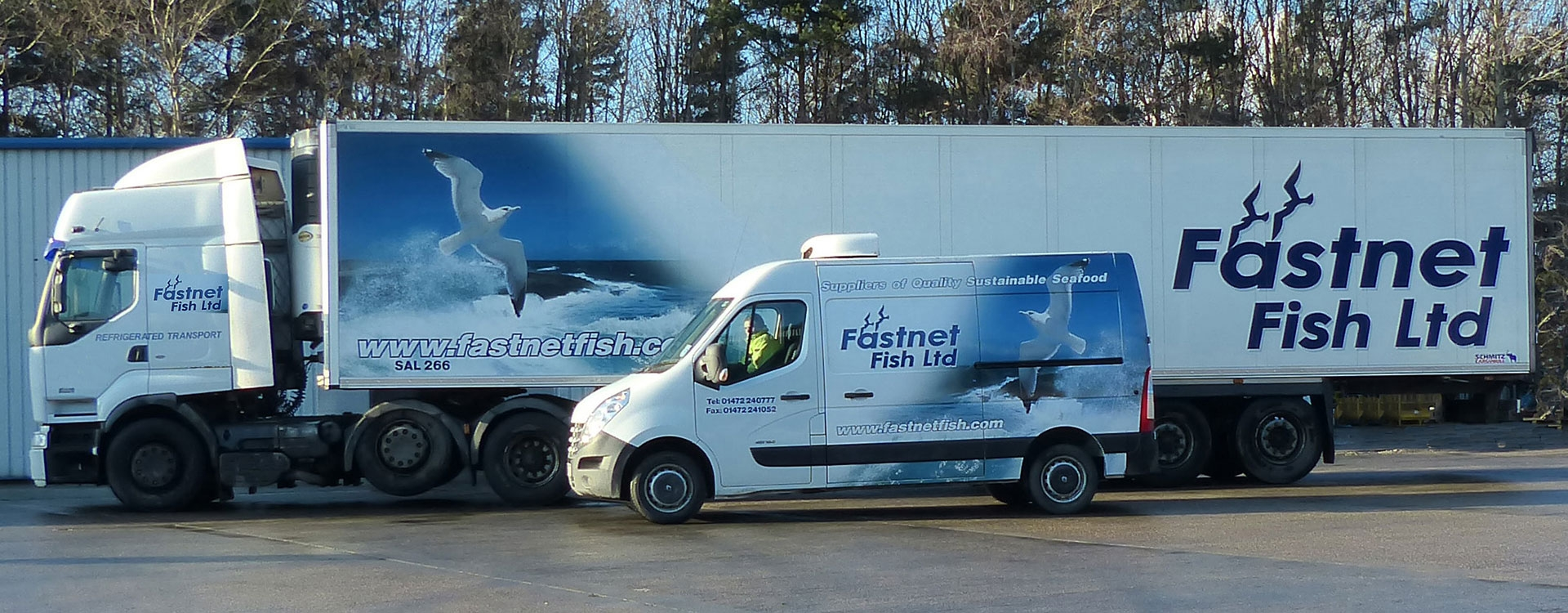 Fastnet Fish   Suppliers of frozen seafood   UK
